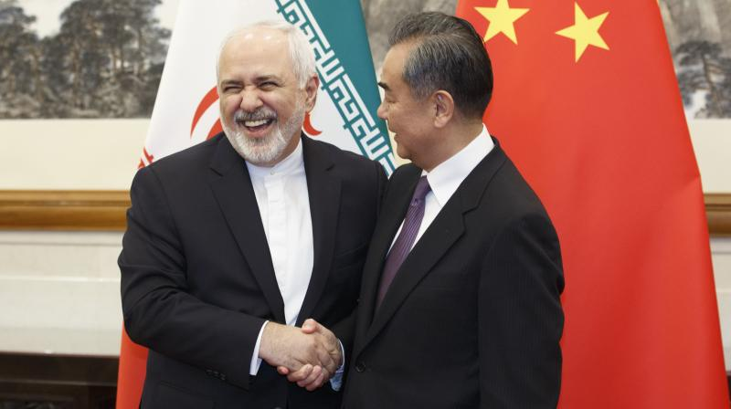 Wang told Zarif during the meeting that China hopes the Iran nuclear deal can be 'fully implemented.' (Photo:AP)
