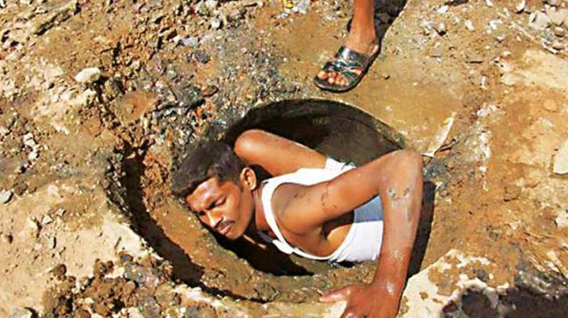 With the city barely a week into the new year and the accompanying revelry, tragedy struck as three manual scavengers met a horrifying death in a manhole.