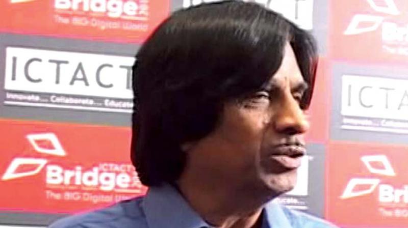 E. Balagurusamy former vice-chancellor, Anna University.
