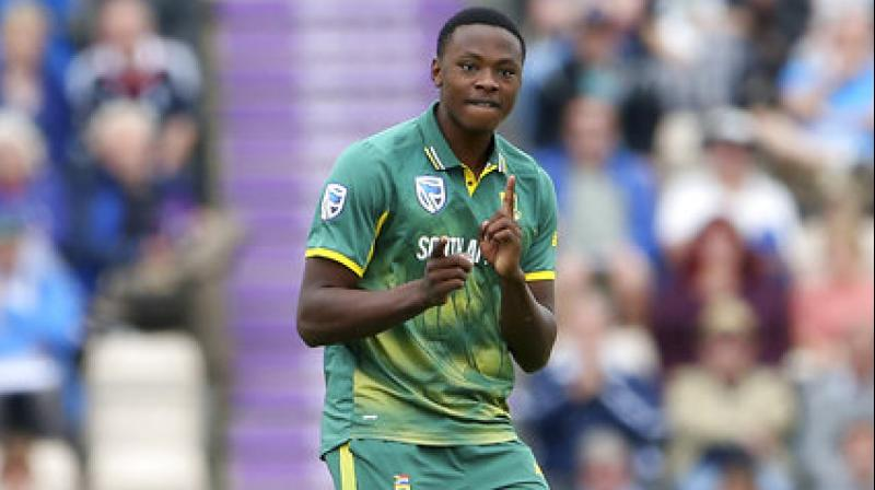 Kagiso Rabada's haul of four for 39 in the final match again England at Lord's on Monday helped him finish the series with seven wickets and become the youngest number-one bowler since Pakistan's Saqlain Mushtaq in 1998.(Photo: AP)