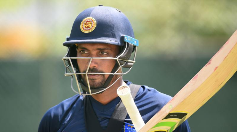 Danushka Gunathilaka's suspension will come into affect after the conclusion of the ongoing Test match between Sri Lanka and South Africa on Tuesday. (Photo: AFP)