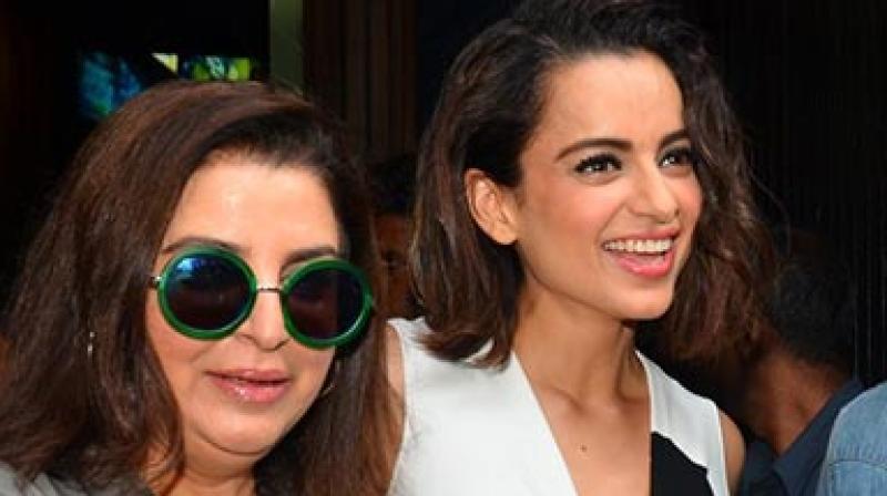 Kangana Ranaut had launched Farah Khan's husband Shirish Kunder's short film last year.