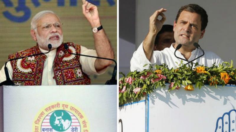 Modi had mocked Rahul Gandhi for his 'earthquake' claim. (Photo: PTI)