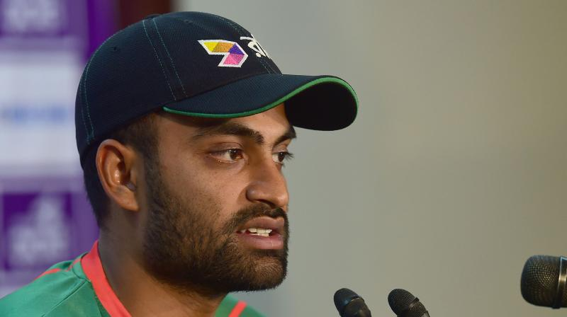 Tamim's absence will hurt Bangladesh as he has been prolific run-scorer in the top-order (Photo: AFP)
