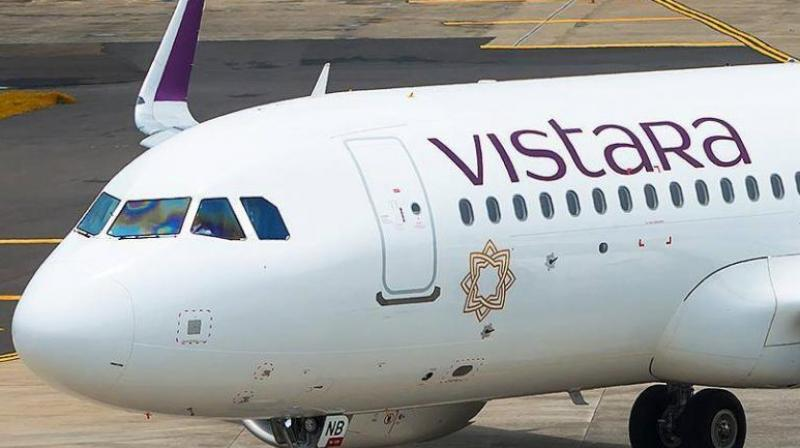A statement issued by Vistara said it routinely posts happy photos of its customers onboard, along with the crew. 'However, a recent such post generated numerous comments that were disrespectful to all parties concerned,' it said. (Photo: File)