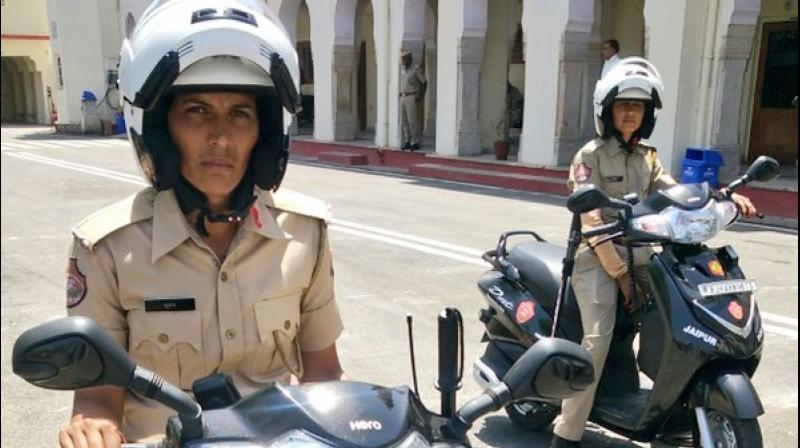 'The aim of the initiative is to help women and girls in distress,' police commissioner Sanjay Agrawal said. (Photo: ANI/Twitter)