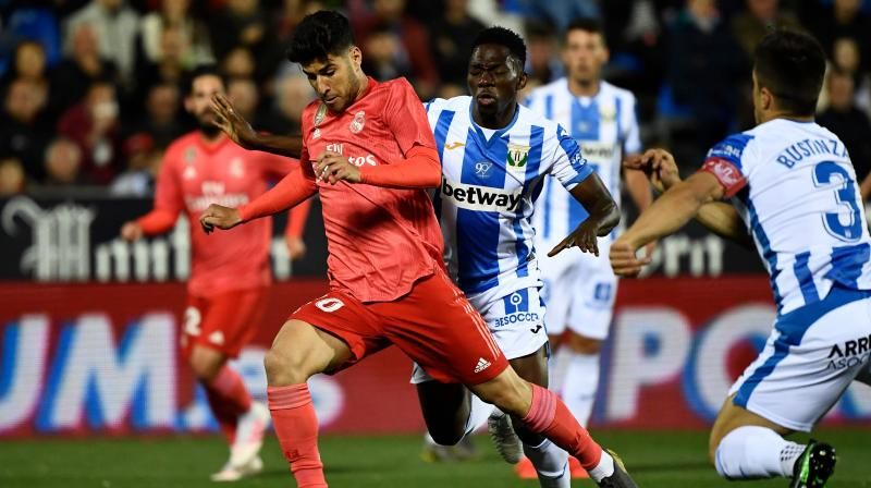 Zinedine Zidane's side, who are third in the table and 13 points behind leaders Barcelona, were uninspired against local rivals Leganes. (Photo: AFP)