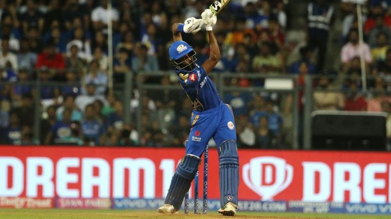 'Hardik's hitting has been helping the team and him as well to move forward. This is something he wanted to do because he didn't have a lot of time before coming to the IPL', the MI captain said.