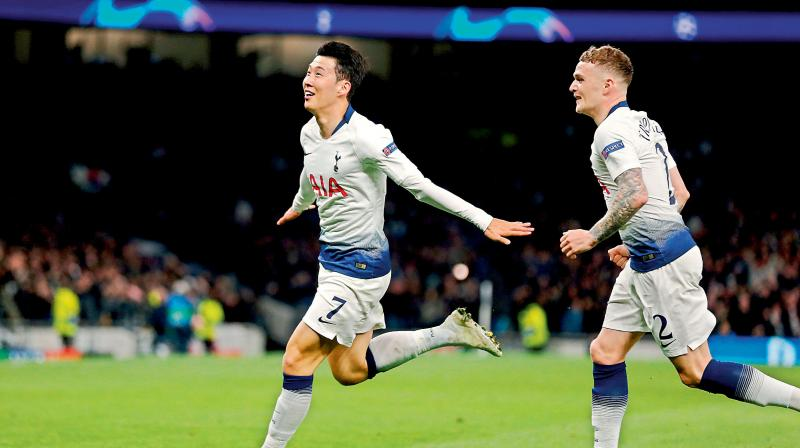 Tottenham go into their biggest game for decades on a low note after losing 1-0 at Bournemouth on Saturday, a defeat that stopped them wrapping up a place in next season's Champions League via a top-four finish in the Premier League. (Photo: AP)