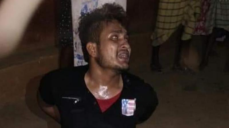 Ansari, 24 was allegedly beaten for hours on suspicion of stealing a motorcycle. In a purported video, he is seen being forced to chant 'Jai Shri Ram' and 'Jai Hanuman'. He died four days later after succumbing to his injuries in a hospital. (Photo: PTI | File)