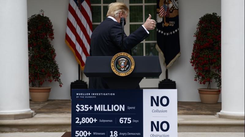 The House can pass the articles by a simple majority vote, 'impeaching' the president. (Photo:AP)