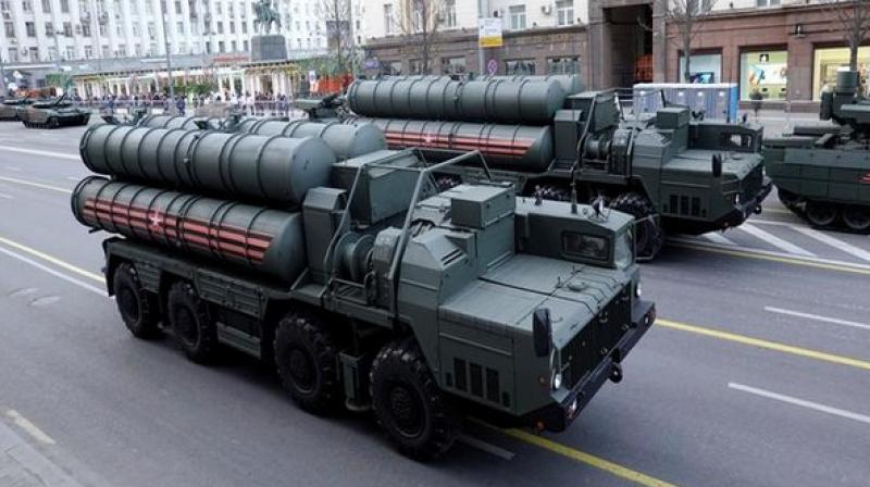 In December 2017, Moscow and Ankara signed a loan agreement for the delivery of S-400 air defence systems to Turkey. (Photo:ANI)