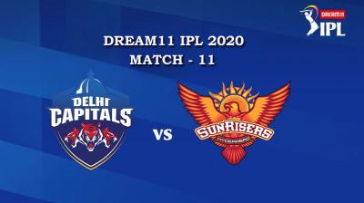 DC VS SRH Match 11, DREAM11 IPL 2020, T-20 Match