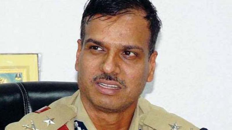 IPS officer Alok Kumar.
