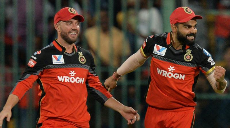 RCB will face Sunrisers Hyderabad in their last encounter of this season on May 4. (Photo: AFP)