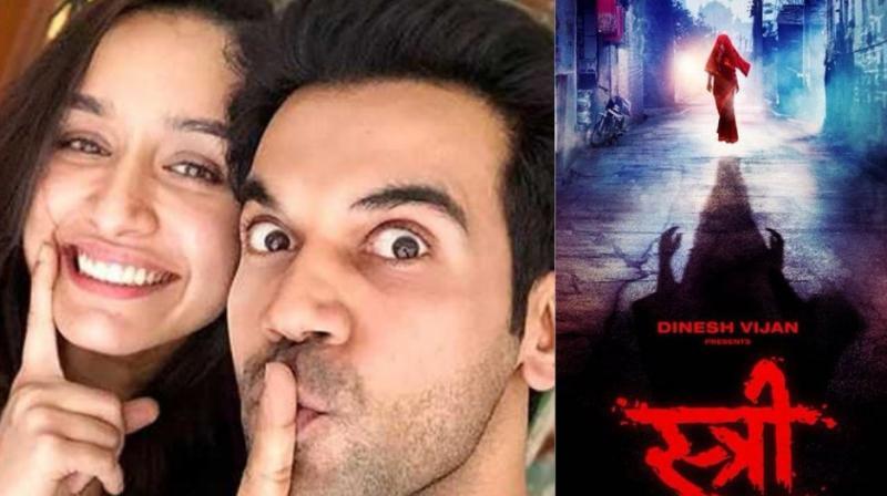 The poster of Rajkummar Rao and Shraddha Kapoor starrer 'Stree.'
