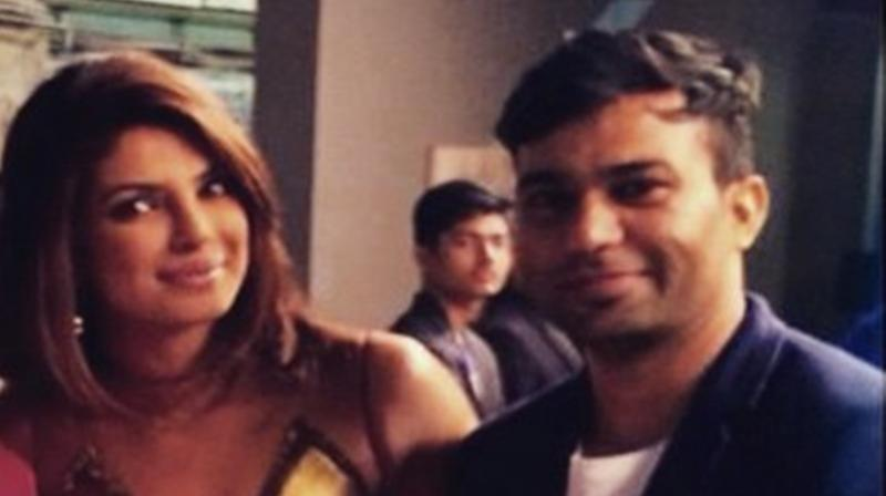 Priyanka Chopra and Ali Abbas Zafar. (Photo: Instagram)