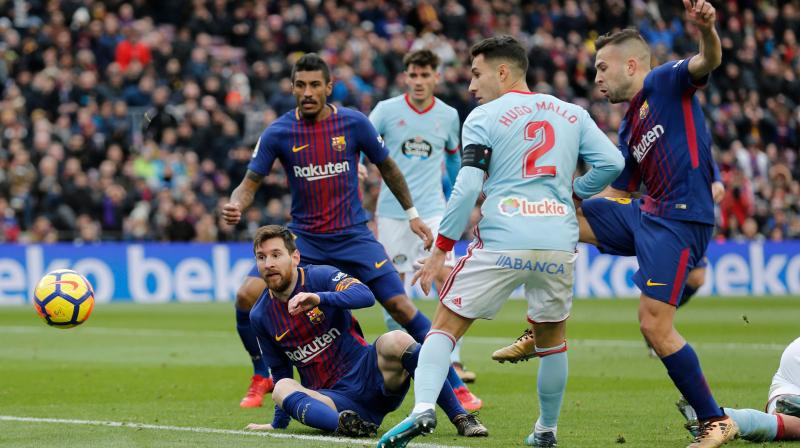 Ernesto Valverde: Decisions went against Barcelona in Celta Vigo draw