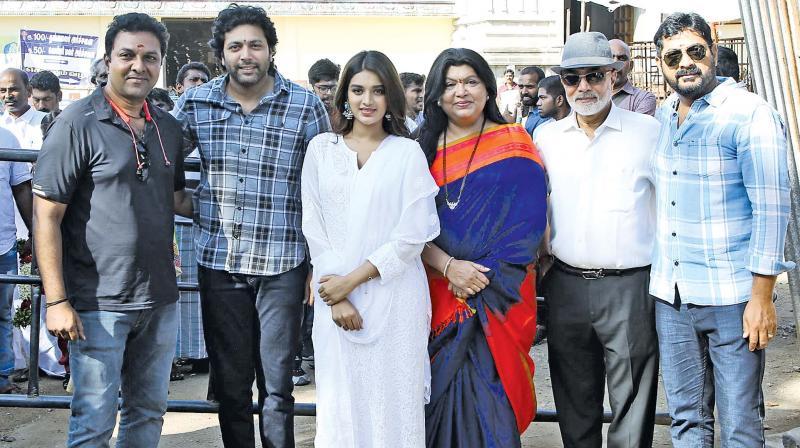 JR 25 - Ravi with Nidhi Agarwal, Lakshman and Sujatha