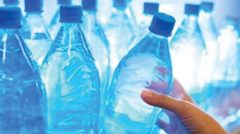 A bottle of water will be priced at Rs 11. One ration shop from 77 taluks each will be selected for supplying bottled water in the first phase.