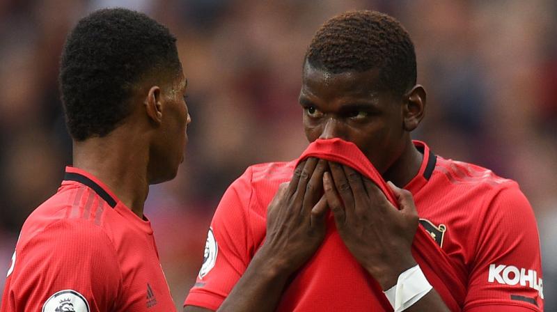 United manager Solskjaer said he allows both Pogba and Rashford to take spot kicks. (Photo: AFP)