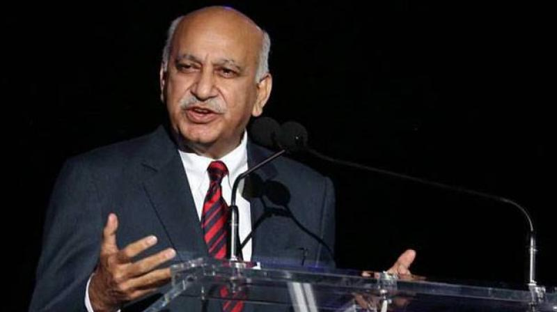 The sexual harassment charges against MJ Akbar began with a tweet by journalist Priya Ramani on October 8, in which she said that an article she wrote for Vogue India a year ago on her experience was actually about MJ Akbar. (Photo: File)