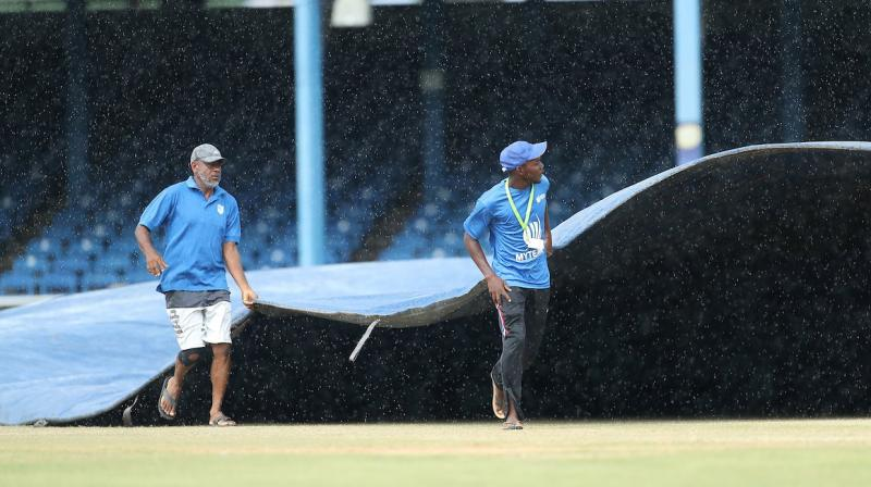 India are leading the series 1-0 after winning the second ODI. The first match was abandoned due to rain. Only 1.3 overs were bowled by India when skies opened up. (Photo: BCCI/twitter)