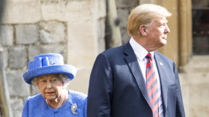 Donald Trump Caught Lying About What Happened When He Met The Queen