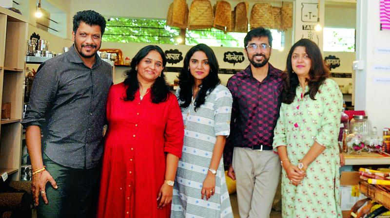 Pankaj, his wife Jyoti and sister Pratibha Jain are the force behind the store, along with two other partners, Suvibha Nolkha and Namrata Baldwa.