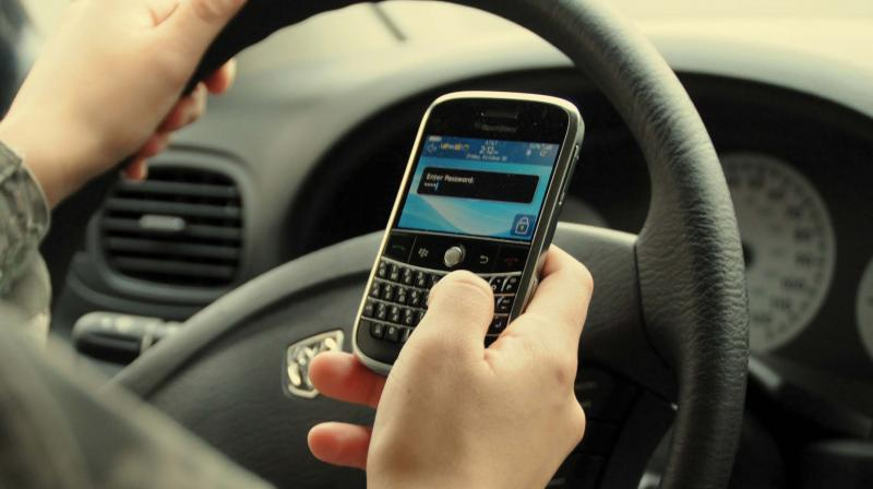 Around 44% respondents use social media while driving, higher than any other city under this study.
