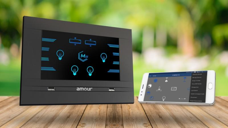 Amour 3.0 is a mobile assisted smart switching solution for the homes.
