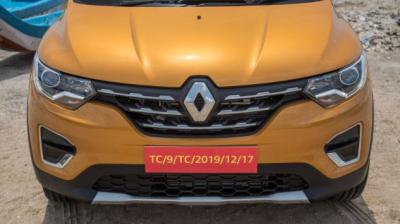The Renault Triber is a sub-4m offering with seating for upto seven passengers.