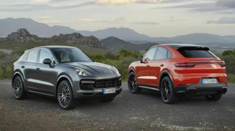 A sportier looking iteration of the Cayenne SUV.