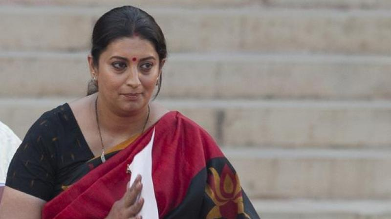 Smriti Irani, Goa CM visit deceased BJP worker's home in Amethi