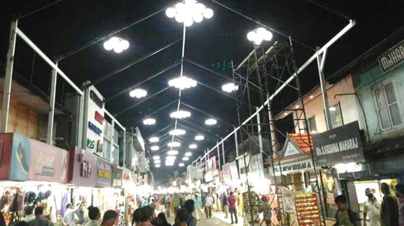 The SM Street in Kozhikode