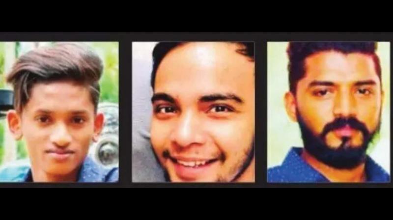 Sanoop, Shihabuddin and Unais.