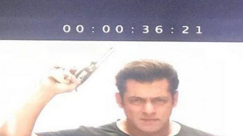 Salman Khan in the first still from 'Race 3' trailer. (Photo: Instagram)