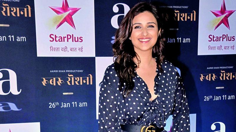 Parallels will be drawn: Parineeti Chopra