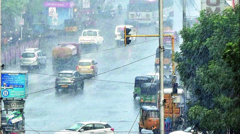 The IMD had earlier predicted that the monsoon would arrive by June 12 but with Cyclone Vayu draining away all the moisture, the monsoon got delayed further resulting in a rise in temperature across the state. (Photo: Representational I File)