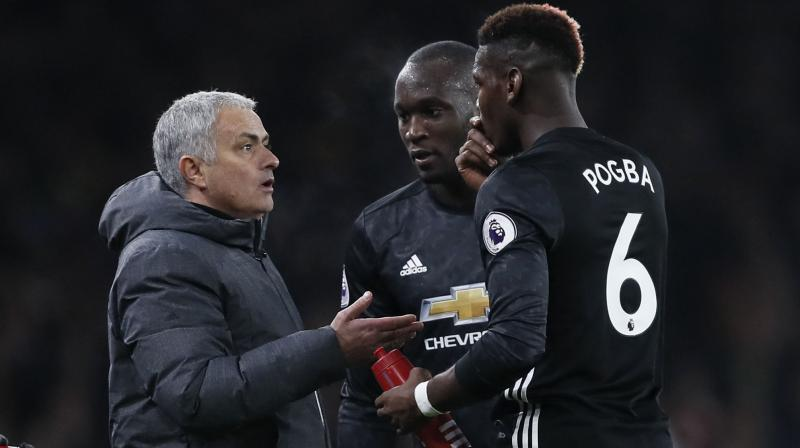 Deschamps suggested the prospect of Pogba once again quitting United for Juventus was not so far-fetched. (Photo: AP)