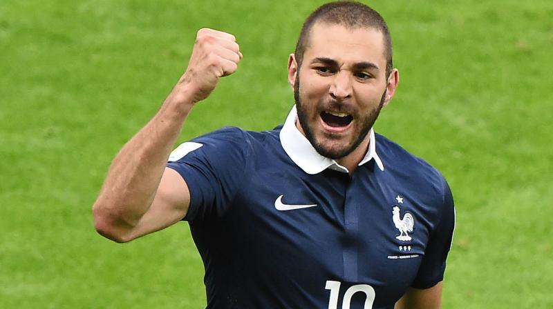 Benzema, whose last game with France was in October 2015, has been named in the 30-man shortlist for the Ballon d'Or award for the best player of the year. (Photo: AFP)