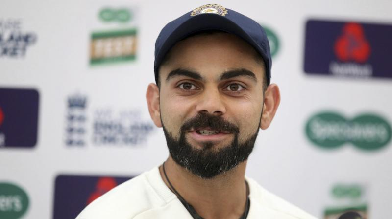 Before Kohli, senior off-spinner Ravichandran Ashwin has also spoken about how he felt better bowling with the Kookaburra than 'SG Test'. (Photo: AP)