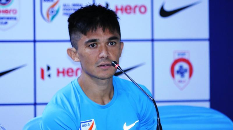 The charismatic captain said he was more focussed on the team doing well than personal accomplishments. (Photo: AIFF Media)