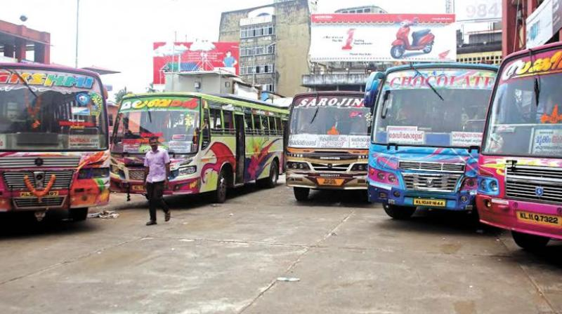 Private bus owners to continue strike as talks fail
