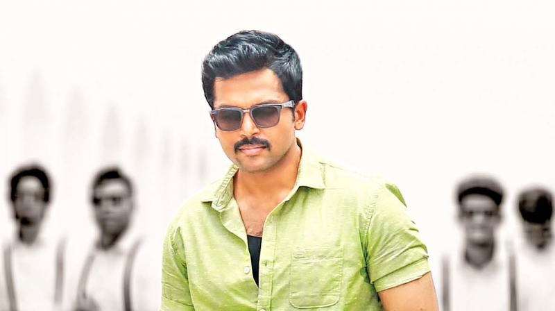 Theeran    inspired by real cop tales: Karthi