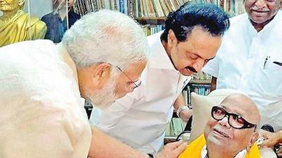 Prime Minister Narendra Modi's recent call on DMK patriarch M. Karunanidhi in Chennai to enquire about his health has triggered speculation that the BJP may be trying to keep its Tamil Nadu options open ahead of the next Lok Sabha polls.