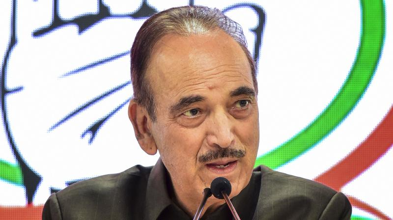 The meeting was convened by Azad who is the leader of opposition in the Rajya Sabha. (Photo: File)