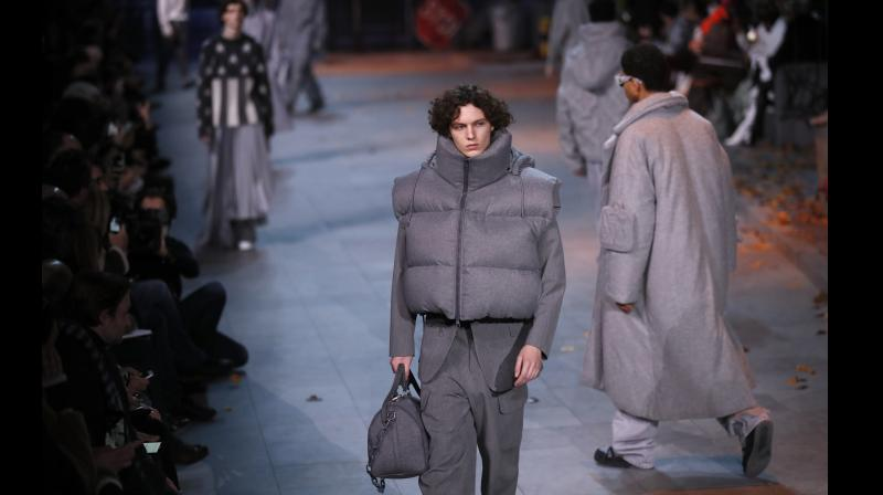 2333d8a3bb Louis Vuitton's Jackson-inspired Nighttide at Men's Fashion Week in ...
