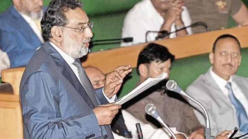 J&K Finance Minister Haseeb Drabu. (Photo: PTI)