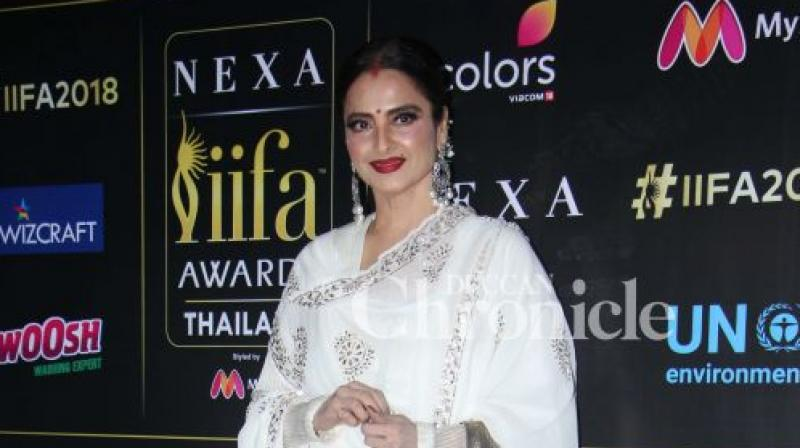 Rekha was last seen in 'Super Nani.'